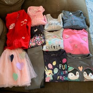 Guc/euc/nwt girls 4t/5t clothing